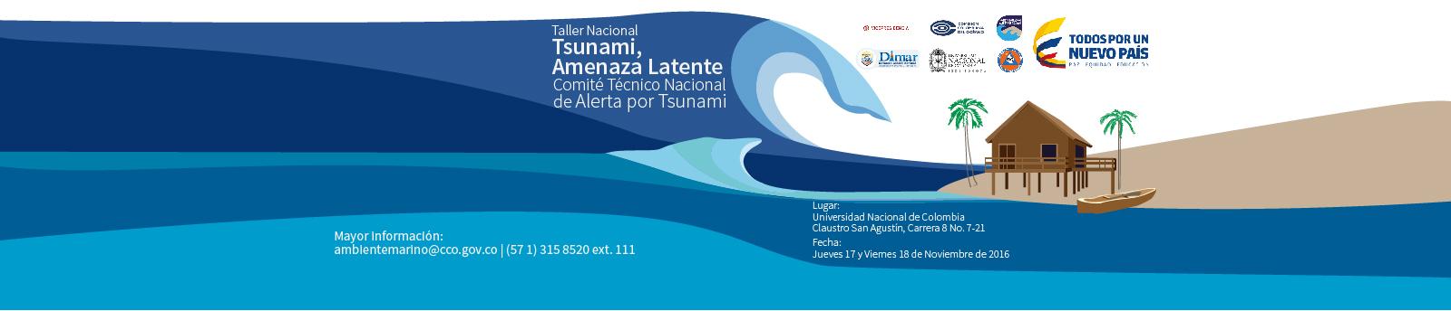 II Taller Nacional Tsunami Amenaza Latente CCO 2016