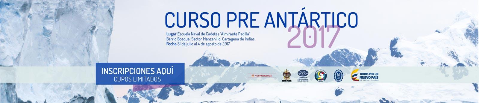 Inscripciones al curso preantártico 2017