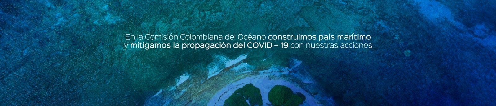 Notificación Comisión Colombiana del Océano con respecto al tema Covid-19