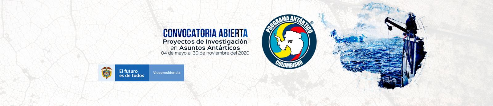 Hasta el 30 de noviembre estará abierta la convocatoria para la VIII Expedición Científica de Colombia a la Antártica Verano Austral 2021– 2022