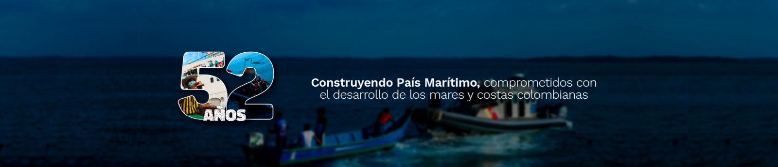 COMISIÓN COLOMBIANA DEL OCÉANO 52 AÑOS COMPROMETIDOS CON EL DESARROLLO DE LOS MARES Y COSTAS COLOMBIANAS