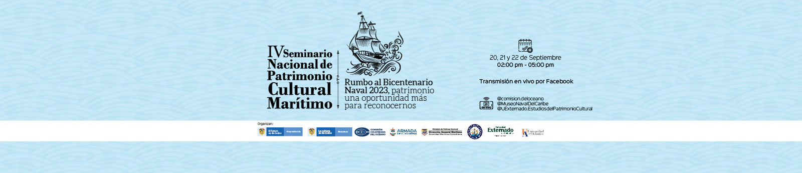 IV Seminario Nacional de Patrimonio Cultural Marítimo