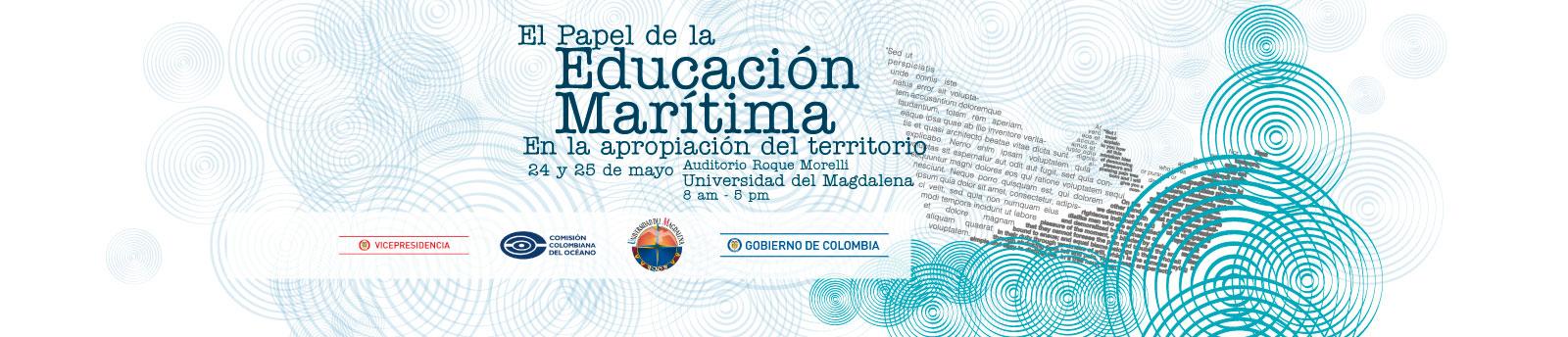 Tercer Taller: 'El papel de la Educación Marítima en la apropiación del territorio'