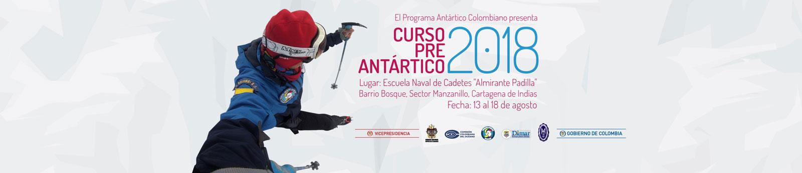Curso pre antártico 2018