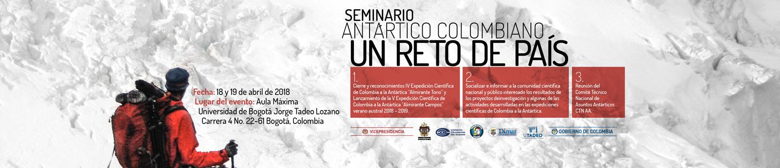 Seminario Científico Nacional 'Un Reto País'