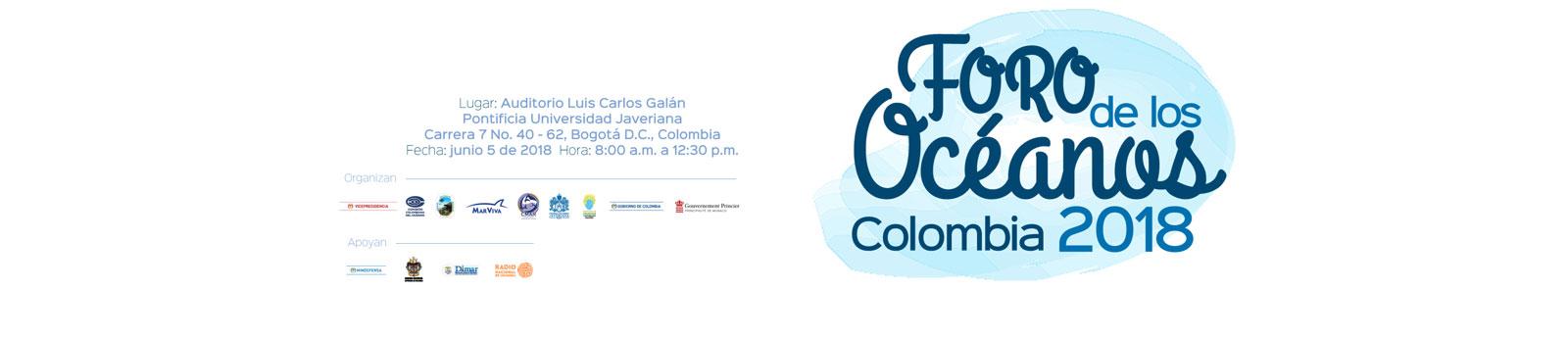 Foro de los Océanos Colombia 2018