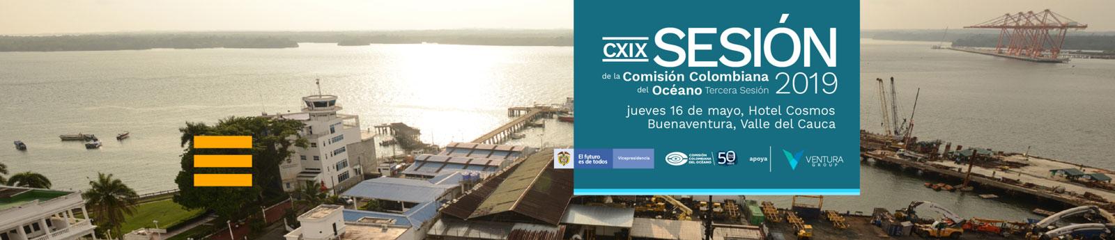 En Buenaventura realizaremos la CXIX sesión de la Comisión Colombiana del Océano