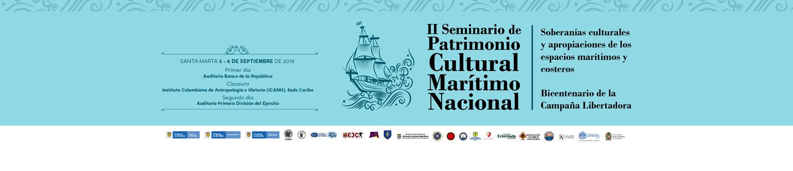 Santa Marta recibe II Seminario de Patrimonio Cultural Marítimo Nacional