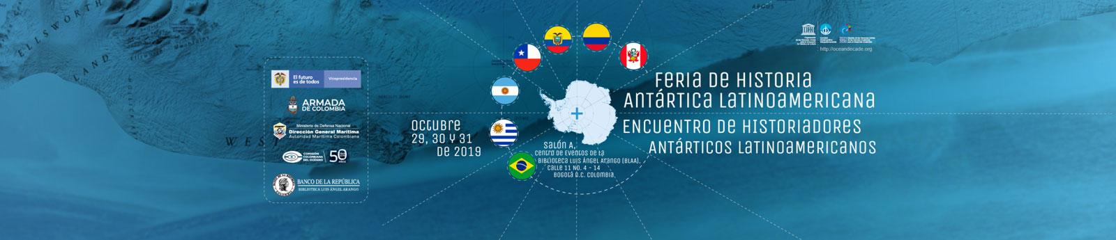 Colombia será la sede del I Feria de Historia Antártica Latinoamericana