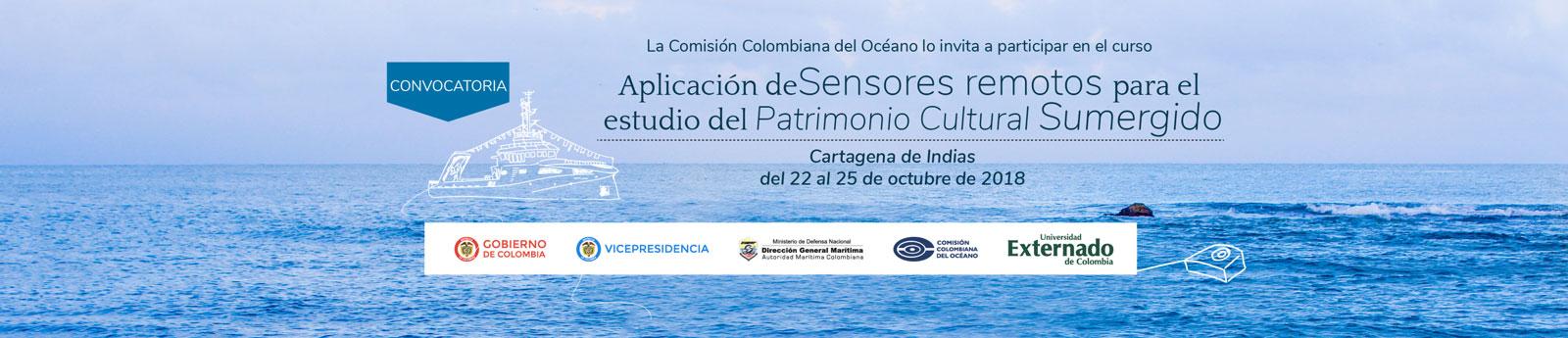 Curso: Aplicación de Sensores remotos para el estudio del Patrimonio Cultural Sumergido