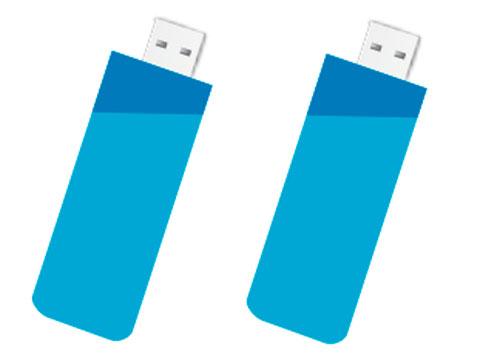 Memorias USB del evento.